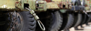 Army Vehicle Close Up
