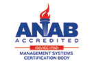 ANAB Accredited Management System Logo